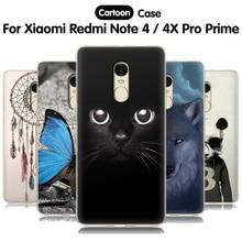 ФОТО eiimoo case for xiaomi redmi note 4 4x pro case cute cartoon silicone soft back cover for xiaomi redmi note4 note4x cover case