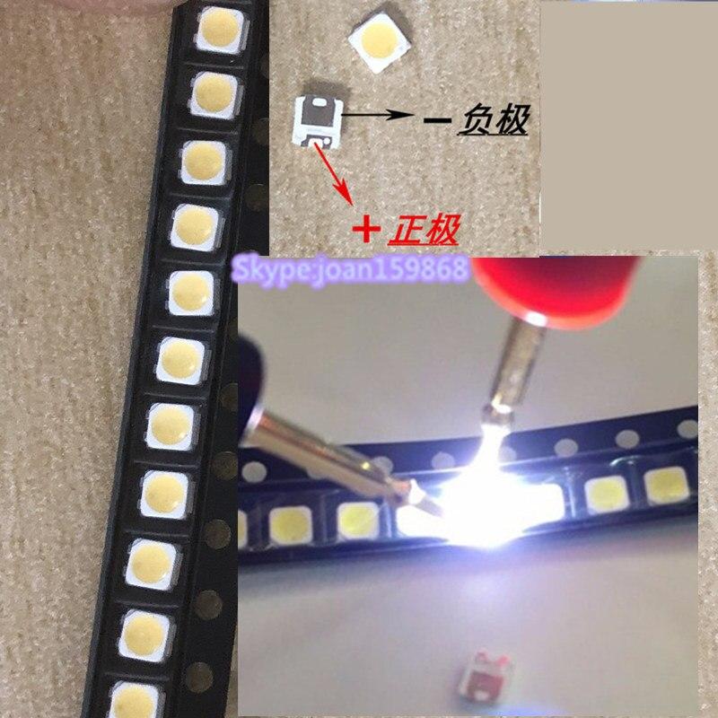 300piece/lot For Samsung Backlight Maintenance Use 1w 3v 3228 2828 Ue40h6200ak Led Strip 2014svs40 3228 L06 Lm41-00099k