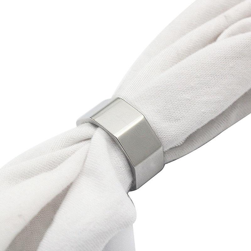 Nut Finger Ring roostevabast terasest ring naiste moe ehted ring - Mood ehteid - Foto 6