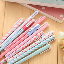 10pcs/set New school supplies South Korea Stationery small heart watercolor color pen black water-based pen free shipping