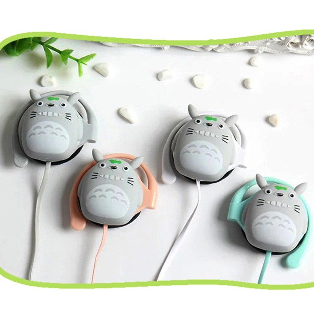 Ohrhörer Und Kopfhörer Begeistert Kopfhörer Cartoon Mode Totoro Headset Schöne Anime Ohrstöpsel Mit Mic Für Android Smart-kind Student Geschenke Handy-ohrhörer Und Kopfhörer