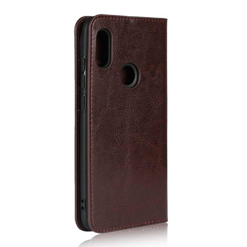 Genuine Leather Case For XIAOMI REDMI K20 NOTE 4X 5 5A NOTE 6 7 PRO 7A Wallet Flip Cover Card Holder Phone Cases