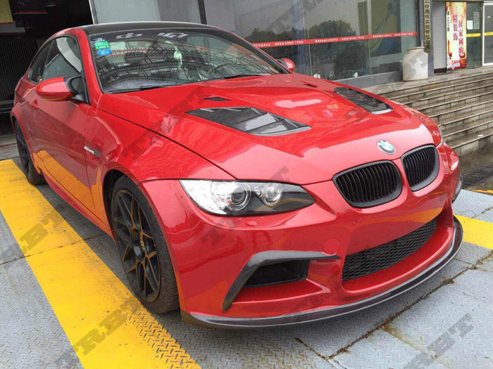 07-13 BMW 3 Series E92 E93 M3 SIB STYLE FRP Hood(1)