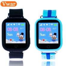 Q100 Q750 Smart Bébé enfants Enfants téléphone GPS Tracker Smart montre enfants GPS Wifi Emplacement enfant SOS Appel Anti-Perte Dispositif GW200S