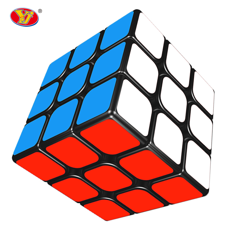 Professional Cube 3x3x3 5.7CM Speed For Magic cube antistress puzzle Magico Sticker For Children adult Education toys(China)