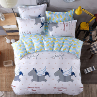 Cartoon Stripe Batman 3 4pcs Bedding Sets Bed Set Bedclothes For Kids Bed Linen Duvet Cover