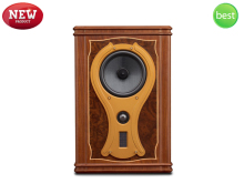 New HiVi F10M 3-Way 3-Driver Hi-End Bookshelf Speaker 6.5-inch Woofer Natural wood Loudspeaker Planar-magnetic tweeter