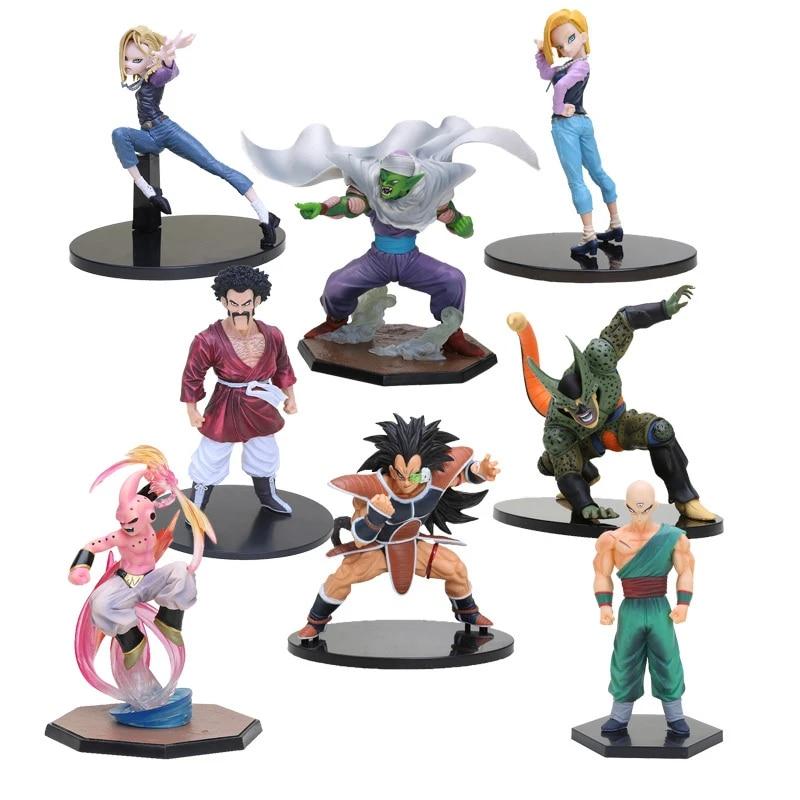 Collection Dragon Ball Z DBZ Tenkaichi 5 Raditz Statue Figure Toy BATTLE Ver.