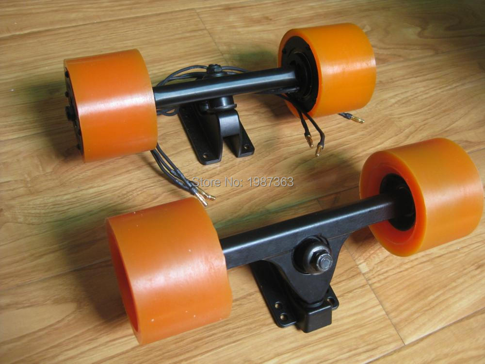 Dual Hub Motor Kit + Front Truck + Wheels