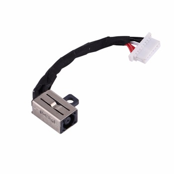 цена на DC Power Jack Connector Flex Cable for Dell Inspiron 11 3000 / 3148 & Inspiron 13 7000 / 7347 / 7348 / 7352