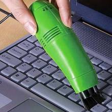 New Portable Computer Keyboard Mini USB Vacuum Cleaner for PC Laptop Desktop Notebook QJY99(China)