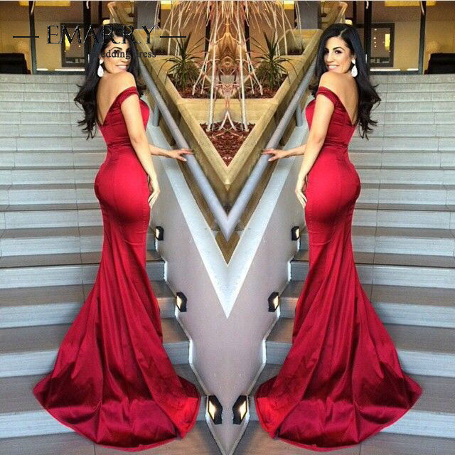 Im177 New Arrival Sweetheart Off Shoulder Mermaid Prom Dress 2016