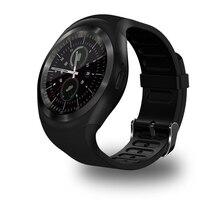 Smartch Y1 поддержка смарт-часы Nano SIM и карты памяти SmartWatch PK GT08 U8 носимых smart electronics запас для IOS Android