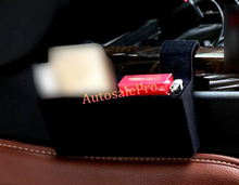 Black Interior Car Seat Seam storage box Holder 1pcs For BMW X6 F16 2015 2016