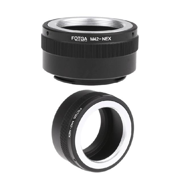 Principais ofertas de 4x fotga anel adaptador m42 para sony nex e-mount nex nex3 nex5n nex5t a7 a6000
