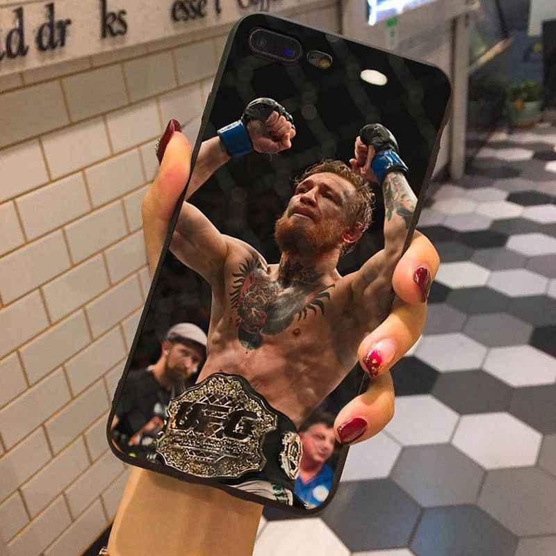 MaiYaCa Конор Макгрегор UFC Новинка чехол для телефона Fundas чехол для iphone 8 7 6 6 S Plus X XS XR XSMax 10 5 5S SE Coque Shell