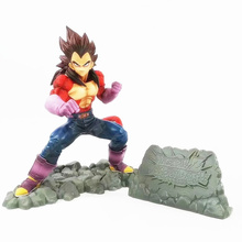 Anime Dragon Ball Z Super Saiyan 4 Vegeta PVC Action Figure Collectible Model doll toy 16cm 2 styles dragon ball z super saiyan nappa goku raditz ultimate form anime combat edition pvc action figure collectible toys