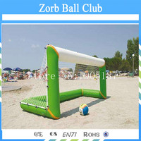 Free Shipping Air Tight Water Beach Toys Inflatable Football Gate,Inflatable Pop Up Soccer Goal For Training