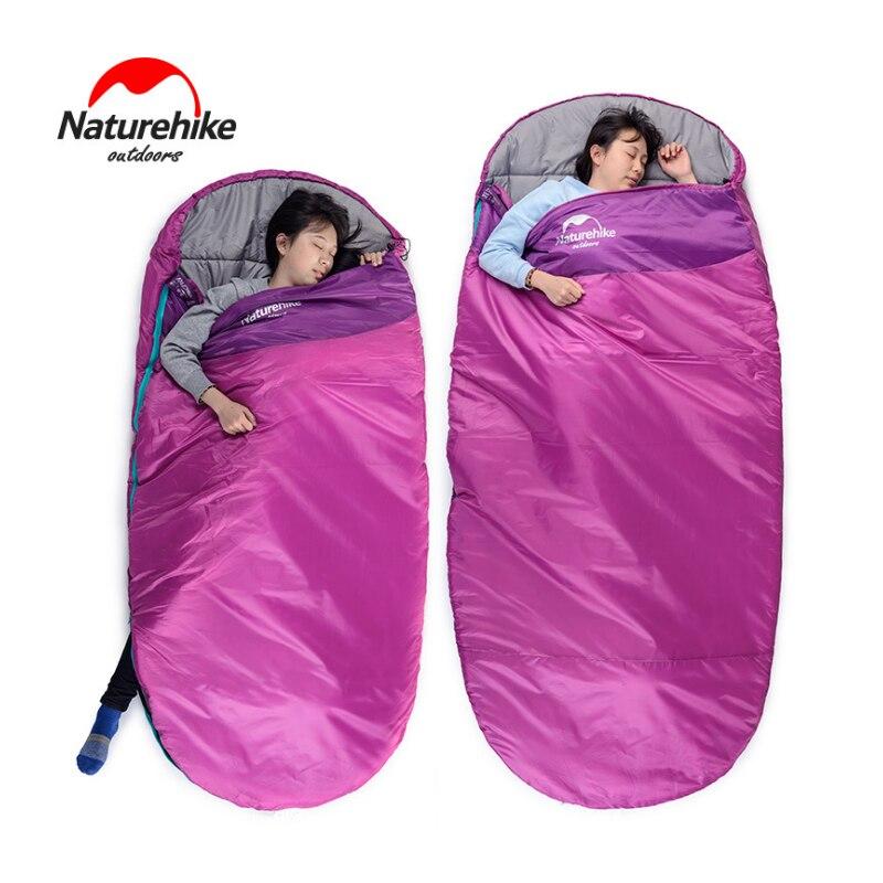 NatureHike Round cake type sleeping bag Filling hollow cotton Adult Camping Sleeping bags 3 seasons NH80S002