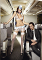 Sexy Cosplay Lingerie Stewardess Uniform Transparent Womens Sexy Costumes Role Play Sets Cosplay Lingerie Stewardess Uniform