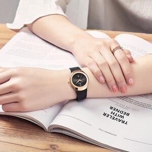 Image 2 - Relogio Feminino Women Watch NAVIFORCE Top Brand Luxury Fashion Ladies Quartz Watches Mesh Stainless Steel Casual Clock Girl