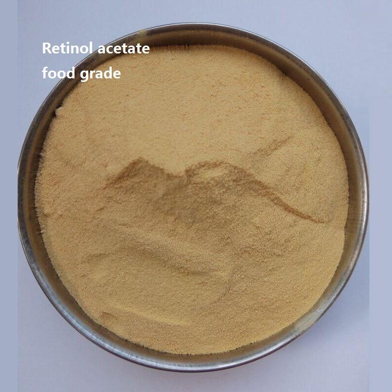 1kg Retinol acetate Vitamin A acetate food grade  Retinol  325000 iu/g 100g vitamin e food grade usa imported