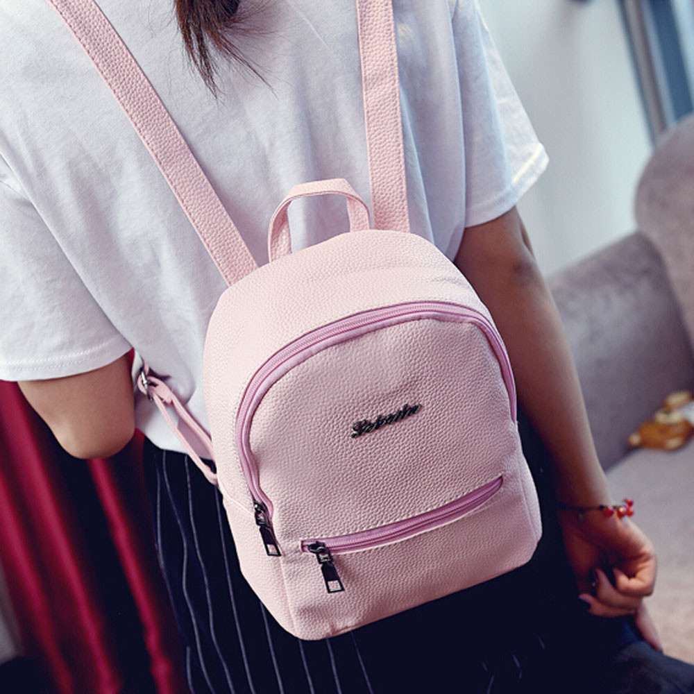 Backpack 2018 Women Leather children backpack mini backpack women cute back pack backpacks for student teenage girls small bag