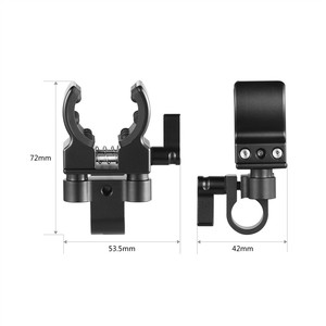 Image 3 - كاميرا صغيرة الحجم بمشبك لحامل الميكروفون العالمي DSLR لمشبك تثبيت المسدس والميكروفون 1993