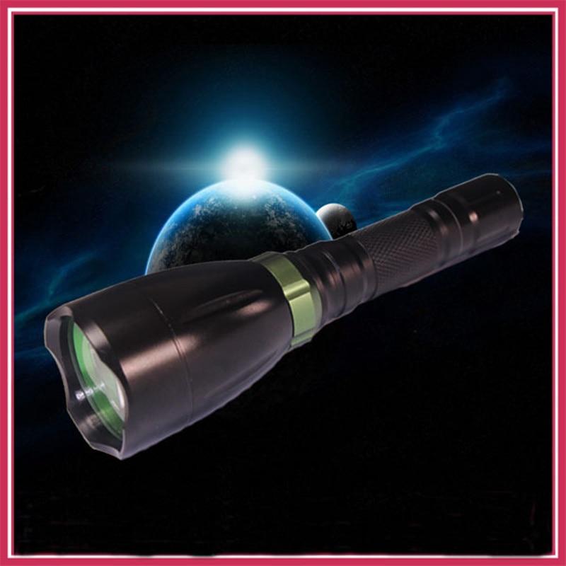 Super helle LED Taschenlampe wasserdichte Laterne Torche Q5 3800 Lumen Aluminium LED Taschenlampe 1 * AA oder 1 * 18650 Taschenlampen