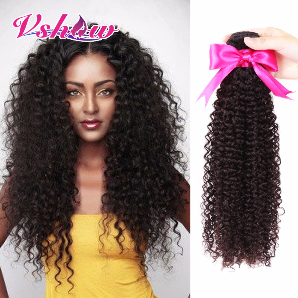 Aliexpress Buy V Show Hair Products Brazilian Kinky Curly
