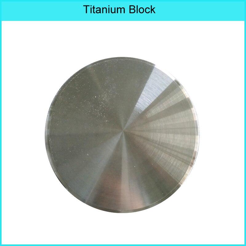 Vsmile Dental Titanium Blocks 98mm Grade 5  Dental CAD CAM Milling Material For Dental Lab Dental Technician Using