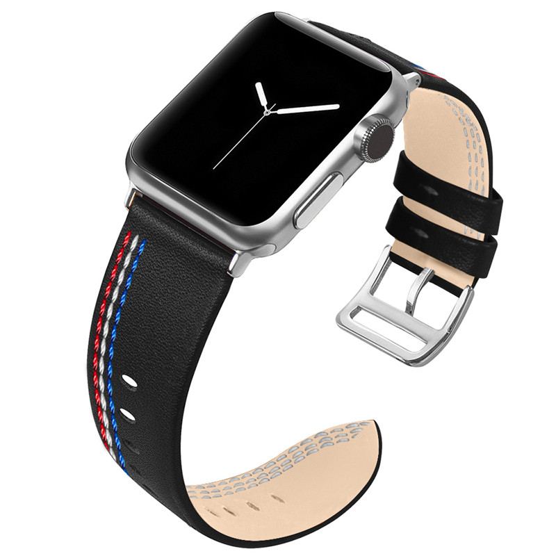 50pcs High quality Watch Strap for iwatch 4 3 2 1 For Apple Watch Band leather