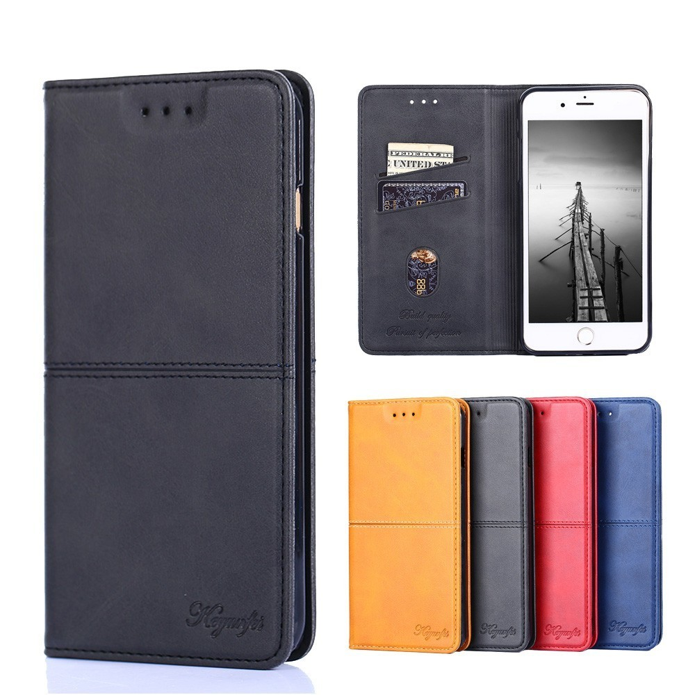 Luxury Leather <font><b>Case</b></font> for <font><b>Samsung</b></font> Galaxy J3 J5 <font><b>J7</b></font> Pro <font><b>2017</b></font> J6 J8 2018 Wallet <font><b>Flip</b></font> Cover for <font><b>Samsung</b></font> J530 J710 J730 Funda Magnet image