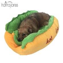 Hantajanss camas moda almofada do sofá cama do cão de estimação inverno quente suprimentos Casa de Cachorro Quente Pet Saco de Dormir Aconchegante Ninho do Filhote de Cachorro canil
