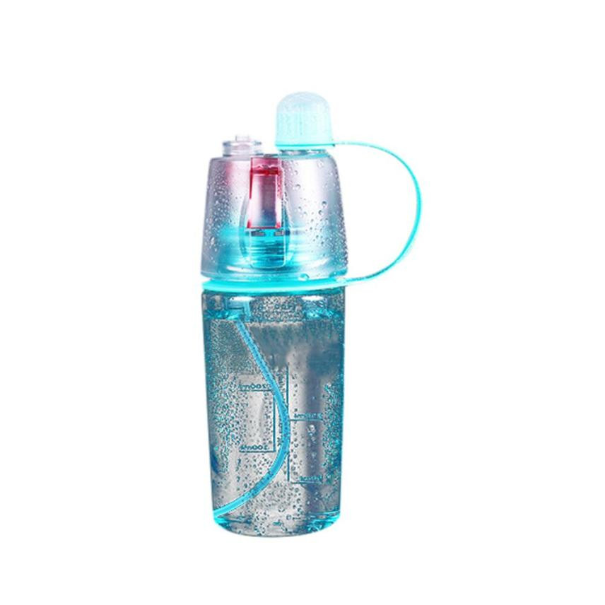 TS#403 Sport Cycling Mist Spray Water Gym Beach Bottle Leak-proof Drinking Cup Free Shipping