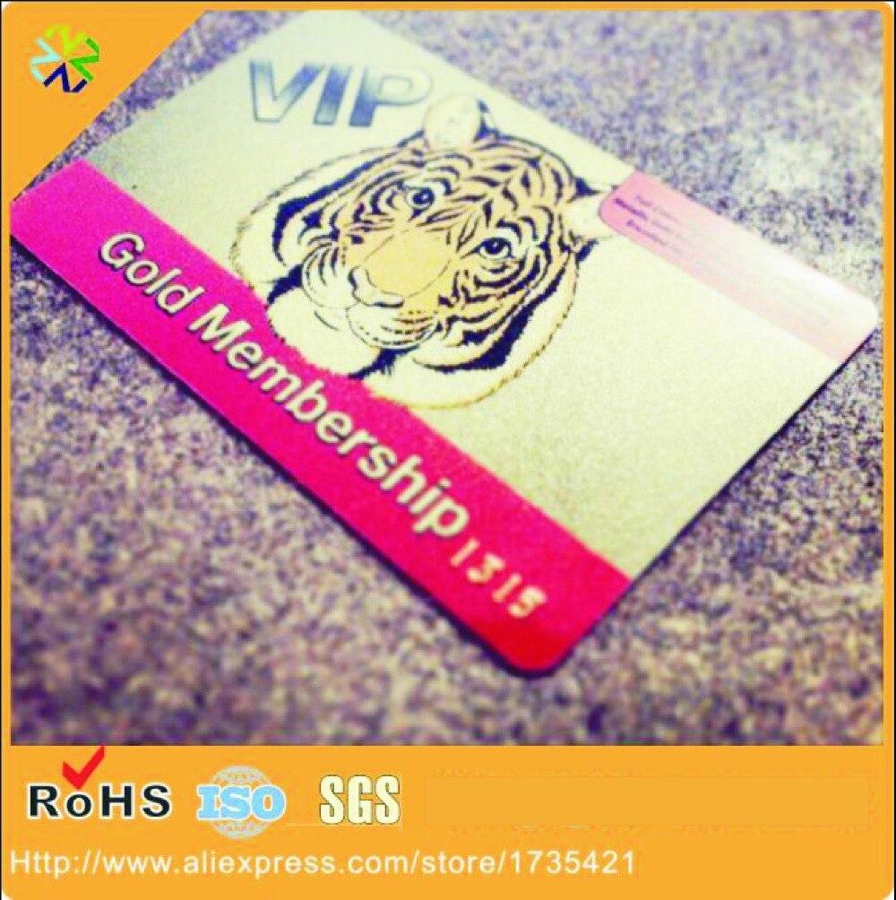 (1000pcs/lot)Professional Plastic Card Printing/ Cheap PVC Card with Scratch/ OEM Custom Label Membership IC