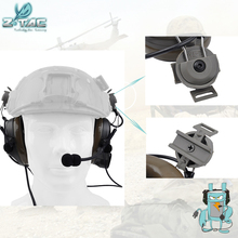 Buy Element Z-tac Tactical Comtac I Headset For FAST helmets Airsoft Outdoor Hunting Fast Helmet Accessories Z032 directly from merchant!