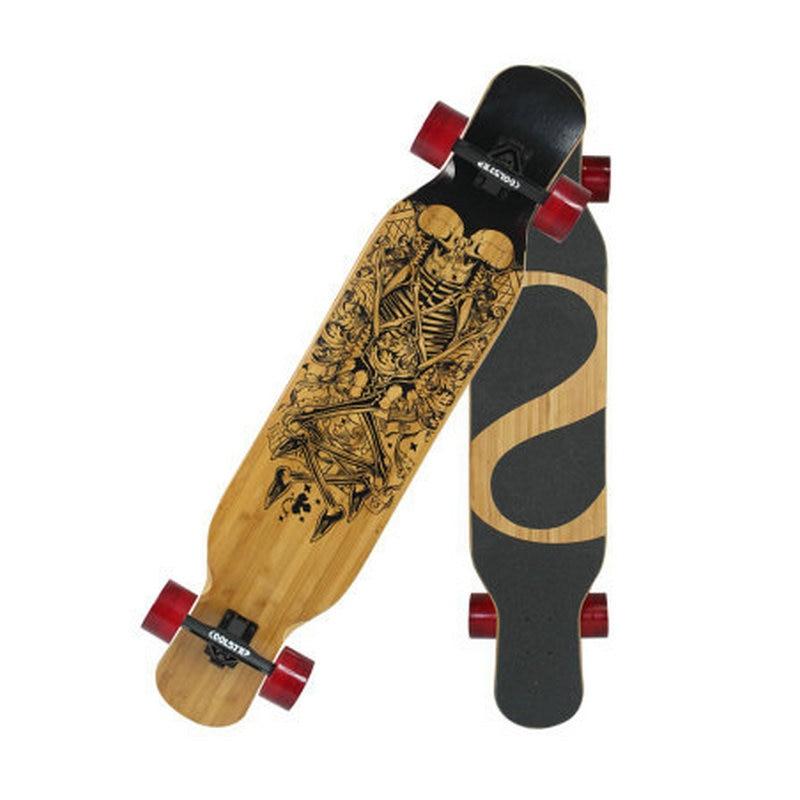 46inch Maple Longboard Professional Skateboard Street Road Skate Board 4 Wheel Downhill Street Dancing Long Board