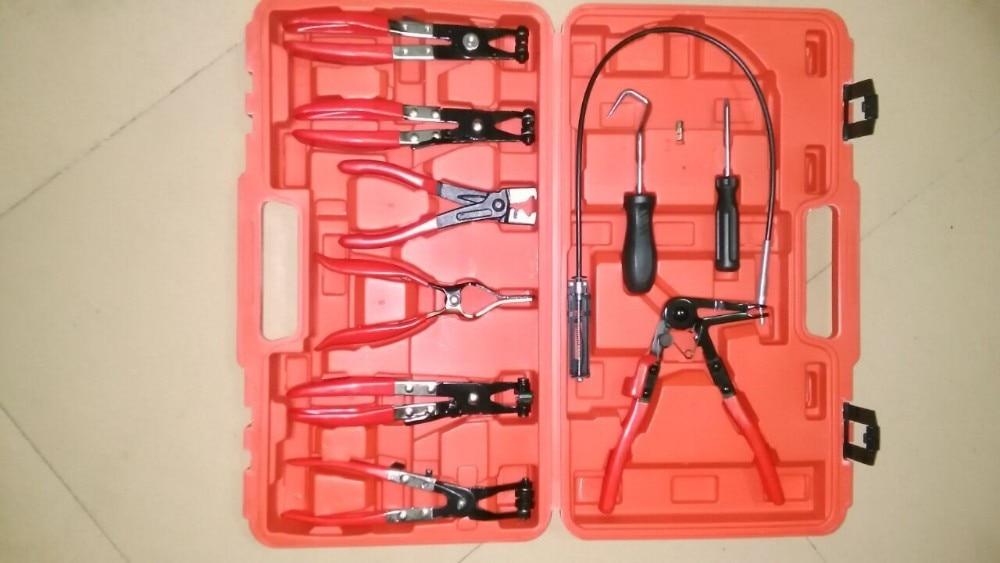 Wholesale Car Universal Automotive Tool Set 9pcs Flexible Hose Clamp Pliers Kit 5sets 9pcs automotive flexible hose clamp pliers hose set at2029