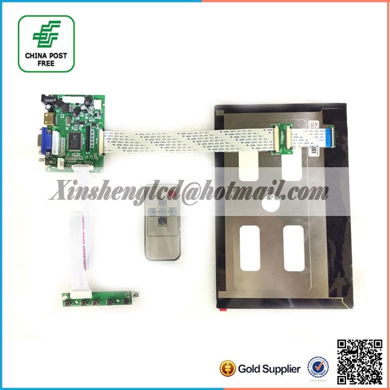 ФОТО 10.1 Inch 40pins 1280(RGB)*800 TFT EJ101IA-01G LCD Screen Display With Remote Driver Control Board 2AV HDMI VGA for Raspberry Pi
