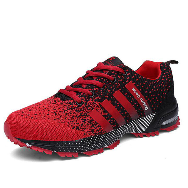 MLANXEUE 2018 Breathable Lovers Unisex Casual Shoes Race an Male Shoe Size 35-4 Fashion Lace-up Human Comfortable Men Shoes 2