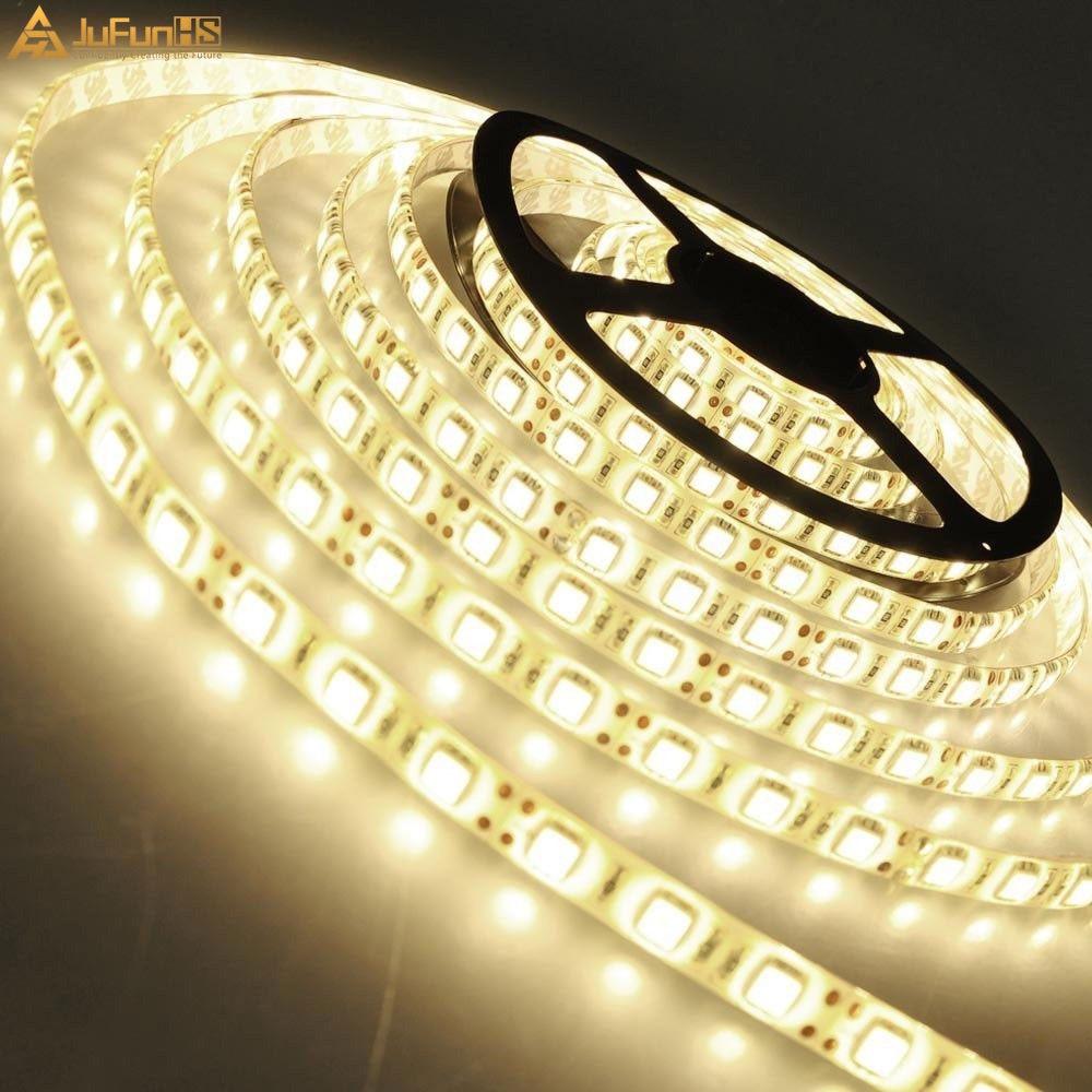 5M 300 LED fleksibilna traka za svjetla 5050 SMD 12V vodootporna - Svjetla automobila - Foto 5