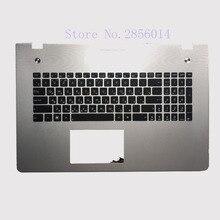 New Russian font b Keyboard b font for Asus N76 N76V N76S N76VM N76VB N76VJ N76VZ