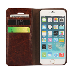 ipngve Handmade Wallet Flip Cover Case For iPhone 6 6S Plus Case iPhone 6 Genuine Leather Phone Bag Fundas For iphone 6S Plus 9