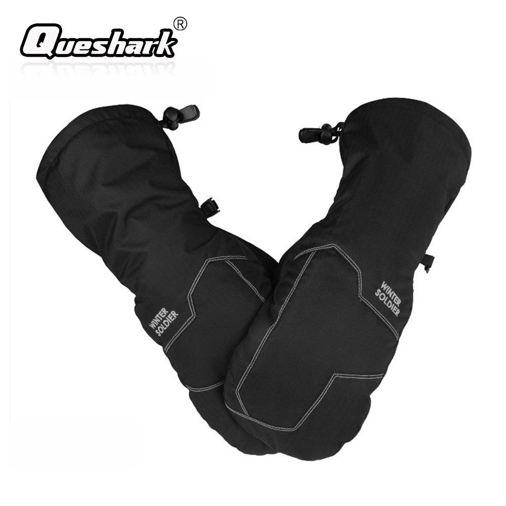 Touch Screen Warm Winter Ski Gloves Men Women Children Extended Wrist Snowboard Skiing Gloves Waterproof Mittens