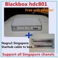 2016 Последним starhub коробка сингапур blackbox c801 hd бесплатно смотреть все Сингапур канал лучше, чем blackbox c600