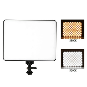 "Image 3 - VILROX 3pcs VL 200T Bi color Dimmable Wireless remote LED Video Light Panel Lighting Kit+75"" Light Stand for studio shooting"