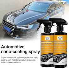 Automotive Nano-Coating Spray Coating Wax Glass Paint Crystal Coating Car Protective Film Car Paint Body Wheel Cleaning Tool