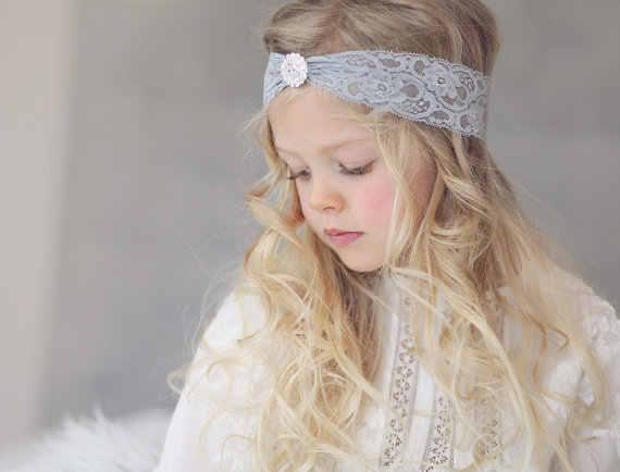 1 ชิ้น MAYA STEPAN เด็ก Headband Headwear สาวลูกไม้ Head Band ทารกแรกเกิดการถ่ายภาพเด็กวัยหัดเดิน Hairband Headwrap ดอกไม้
