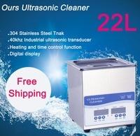 20L ультразвуковой очистки 480 Вт Бесплатная доставка цена включает в себя очистки корзины